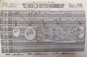 badminton-Score sheet