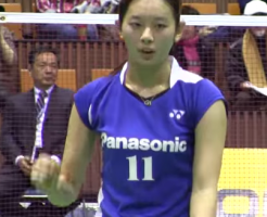 Badminton: The way to hold, hit and form for high back shot (there's video)