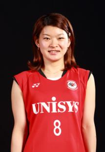 日本ユニシス女子バドミントン部-高橋 礼華選手の使っているラケット
