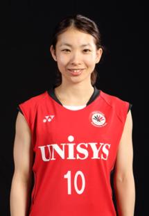日本ユニシス女子バドミントン部-松友美佐紀選手の使っているラケット