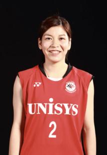 日本ユニシス女子バドミントン部-星 千智選手の使っているラケット
