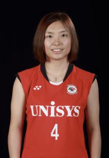 日本ユニシス女子バドミントン部-篠谷 菜留選手の使っているラケット