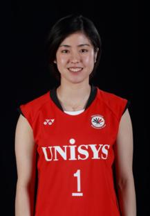日本ユニシス女子バドミントン部-栗原 文音選手の使っているラケット
