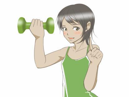ダンベルを使うトレーニングの方法