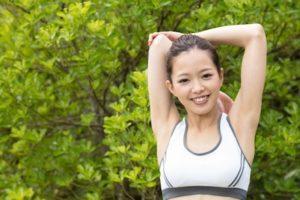 内側の筋肉は柔らかい筋肉