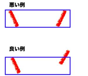 スマッシュレシーブ上達するための改善点2,足幅